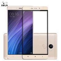 KOLA 红米4钢化膜 全覆盖手机保护贴膜 适用于小米手机红米4标准版 金色