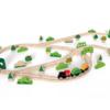 Hape火车轨道森林历险套 3岁+儿童益智玩具幼儿宝宝光滑木制礼物 217元