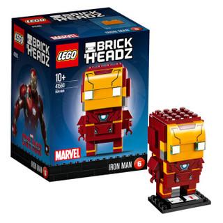 乐高 方头仔系列 钢铁侠 10岁+ 41590 儿童 积木 玩具LEGO