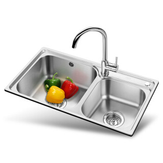 历史新低 : OULIN 欧琳 OLWG81460水槽+龙头套餐