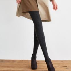 TINCOCO 900D加厚加绒抽条显瘦打底连裤袜秋冬保暖竖纹