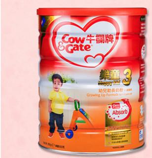 Cow&Gate 英国牛栏 婴幼儿配方牛奶粉 4段 900g 港版