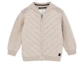 ZARA 03296561708 男童基本款绗缝外套