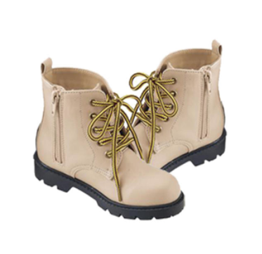 SKIPLAND 斯克莱 儿童马丁靴 浅驼色 15cm