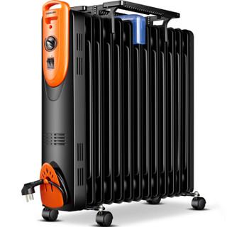 康佳(KONKA) KH-YT1213 13片家用电热油汀取暖器/电暖器/电暖气