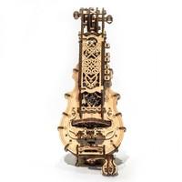 UGEARS 木质机械传动模型 手摇风琴