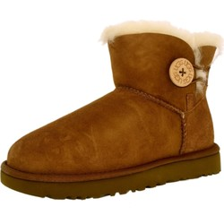 UGG australia Mini Bailey Button II 女款雪地靴