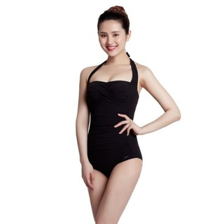 历史新低、限尺码 : SPEEDO 速比涛 Sculpture Crystalsun 女式连体泳衣