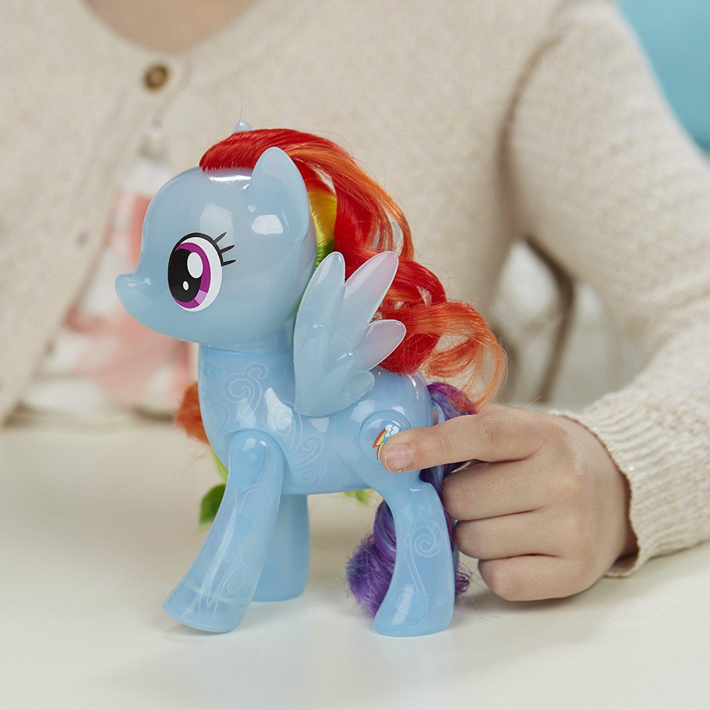 My Little Pony 小马宝莉 Rainbow Dash 彩虹小马玩偶