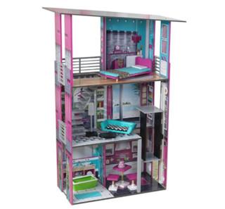 KidKraft 超级公寓 木制仿真娃娃屋