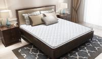 喜临门床垫6cm 环保3D椰棕护脊硬床垫 儿童老人   米拉(白色 1.8*2) *2件