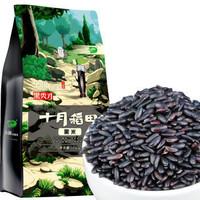 22点开始:十月稻田 黑米 1kg