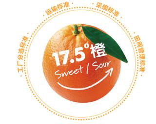农夫山泉 17.5°橙 钻石果 5kg