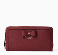 kate spade NEW YORK hazel court lacey 女士长款钱包