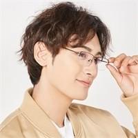 HAN HN41115 纯钛眼镜架+1.56非球面镜片