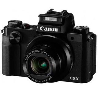 Canon 佳能 PowerShot G5X 数码相机 (2020万有效像素 DIGIC6处理器 24-100mm变焦)