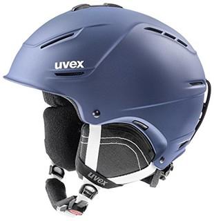 UVEX 优唯斯 p1us 2.0 男女滑雪头盔 Uvex P1us 2.0 海军蓝垫 52-55