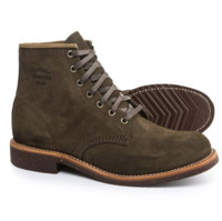 CHIPPEWA Suede Service 男士工装靴