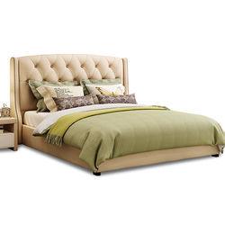 蕾舒 欧式布艺双人床 排骨架款 1.8*2米