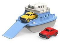 Green Toys 渡轮 带迷你汽车 浴缸玩具 白色