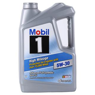 Mobil 美孚 1号 全合成机油 5W-30 高里程 SN级 4.73L