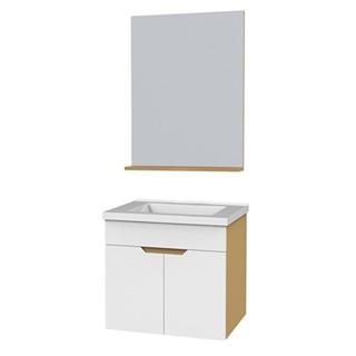 ENZO RODI 贝朗安住 白色烤漆面多层实木浴室柜