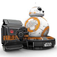 值友专享,历史新低:Sphero BB-8 星球大战7 遥控智能机器人 特别战损版 (附带原力手环)