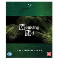2017黑五:Breaking Bad 绝命毒师 蓝光全集(全5季、共15碟)