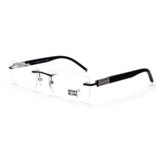 MONT BLANC 万宝龙 巡行系列 MB382-002 无框光学眼镜