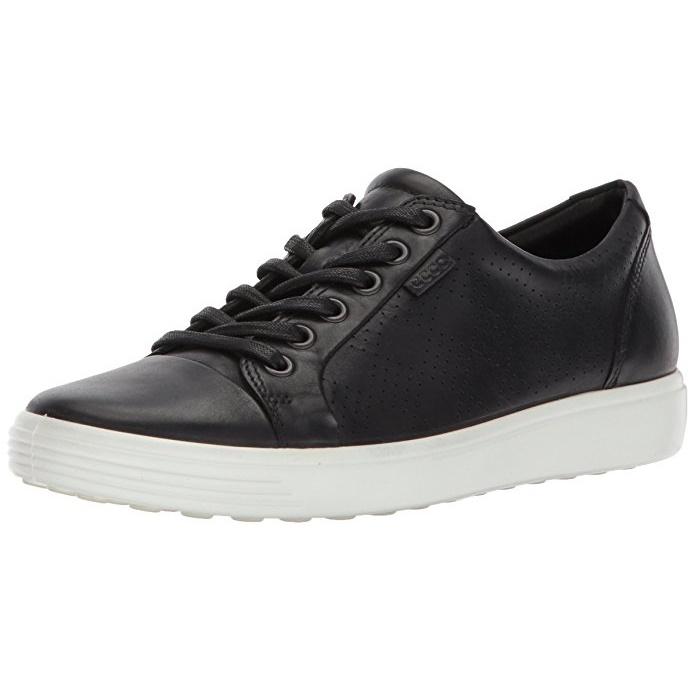 ecco 爱步 SOFT 7 女士休闲鞋 黑色 UK5.5