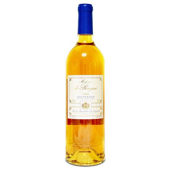 Madame de Rayne 海涅夫人(唯侬酒庄副牌) 贵腐甜白葡萄酒 1996年 750ml