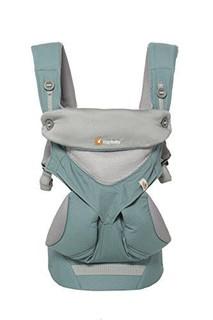 ERGOBABY 婴儿背带:功能款360-网眼透气,冰薄荷色 (美国品牌 保税区发货)(包邮包税)