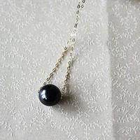 剁手星期一:Pearlyuumi 大溪地黑蝶珍珠项链 9-10mm K18黄金 or K14白金可选