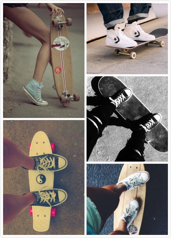 摩擦吧,我的滑板鞋