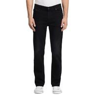 凑单品:Calvin Klein Straight Fit 男士黑色牛仔裤