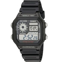 凑单品:CASIO 卡西欧 AE-1200WH-1A 男士手表