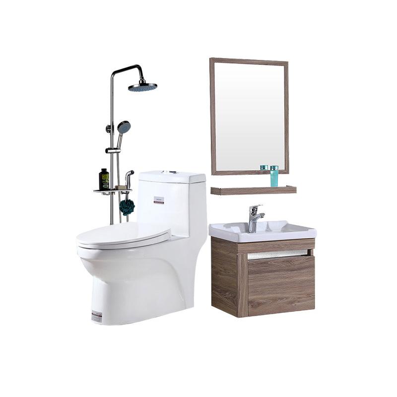 凯鹰 CS01 浴室柜马桶花洒组合套餐(浴室柜 50cm+花洒+马桶)