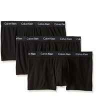 限S码、中亚Prime会员:Calvin Klein Cotton-Stretch Boxer Briefs 男士平角低腰内裤