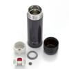 TIGER 虎牌 MSE-A040KM 超轻便携真空不锈钢保温杯 黑色 400ml *3件 351.31元(合117.1元/件)