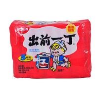 Nissin出前一丁即食面(麻油味)(五联包)500g(香港进口 包)