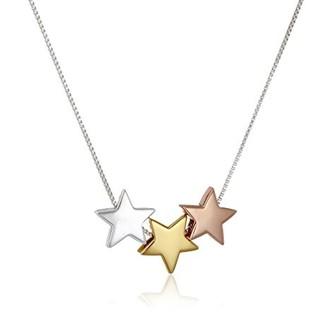 中亚Prime会员 : Amazon Collection 三色星星吊坠项链 925银 *3件