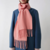 Acne Studios 艾克妮 Canada Skinny 纯色羊毛围巾 窄版 1039元