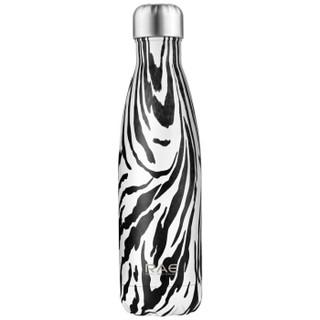 然也(RAE) 500ml双层不锈钢真空可乐瓶 运动时尚户外车载学生水壶 随手保温杯R3081