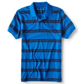 AÉROPOSTALE A87 striped 男款POLO衫