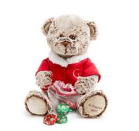 GODIVA 歌帝梵 2017版 限量小熊+6颗巧克力球