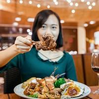 自助餐券:惠州屿海云天屿悦餐厅自助餐(买两份送1晚酒店住宿)