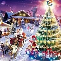 亲子游:珠海长隆海洋王国 圣诞夜场门票