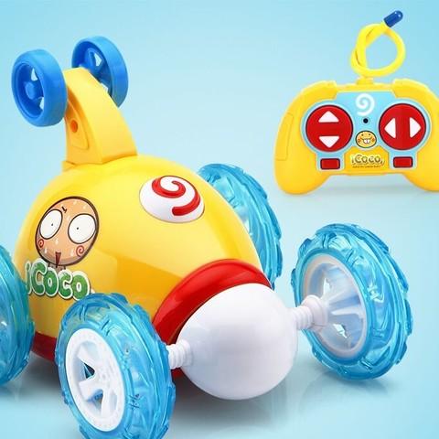 人气玩具好价再来: 益米 儿童遥控车翻斗车 3款可选
