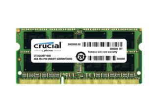 crucial 英睿达 DDR3L 1600 8GB 笔记本内存