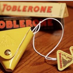 Toblerone 瑞士三角巧克力 收音机特别版(内赠耳机)400g *5件 +凑单品